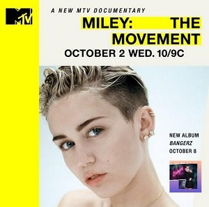 Miley: The Movement - Promotional poster
