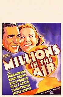 <i>Millions in the Air</i> 1935 film by Ray McCarey