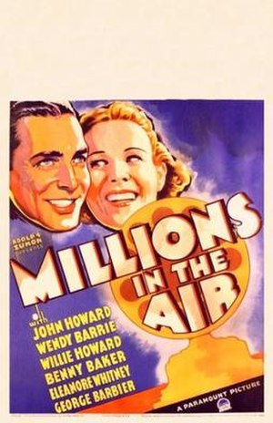Millions in the Air - Theatrical release poster