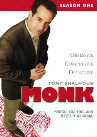 Monk (season 1) - DVD cover