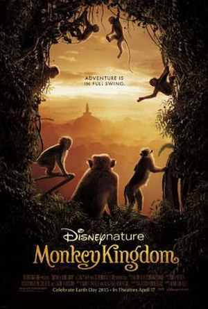 Monkey Kingdom - Theatrical release poster