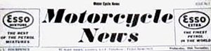 Motor Cycle News - The first edition 30 November 1955