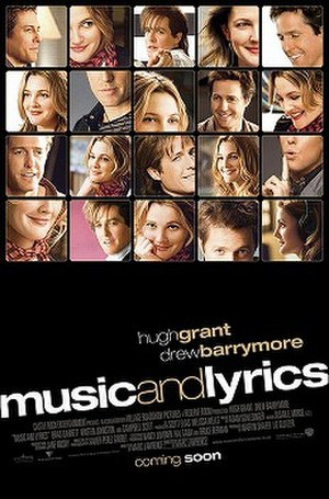 Music and Lyrics - Theatrical release poster