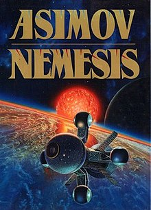 Image result for nemesis cover isaac asimov