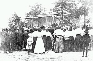History of the Alabama Cooperative Extension System - Jesup Wagons were launched in 1906, marking the beginning of Tuskegee Cooperative Extension work.