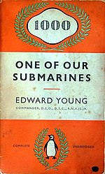 The cover of Young's book describing HMS Storm's wartime experiences.