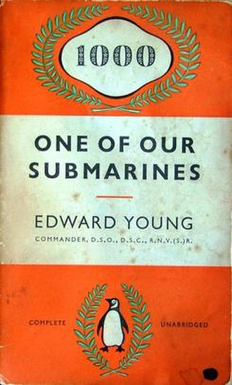HMS Storm (P233) - The cover of Young's book describing HMS Storms wartime experiences.