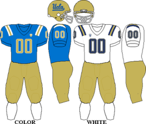 2010 UCLA Bruins football team - Image: Pac 10 Uniform UCLA 2010