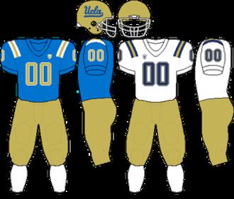 2010 UCLA Bruins football team - Image: Pac 10 Uniform UCLA 2010