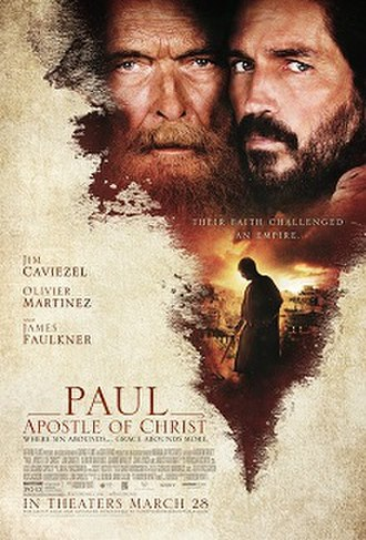Paul, Apostle of Christ - Theatrical release poster