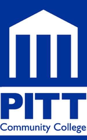Pitt Community College - Image: Pcc logo blue sm