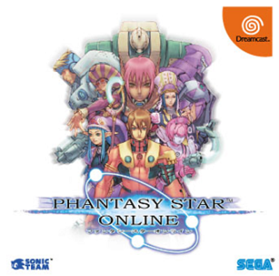 Picture of a game: Phantasy Star Online