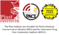 Piast Institute and other programs it founded such as the Polish American Communication Initiative (PACI) and the Hamtramck Drug Free Community Coalition (HDFCC).png