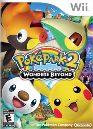 PokéPark 2: Wonders Beyond - Image: PokéPark 2 Wonders Beyond cover