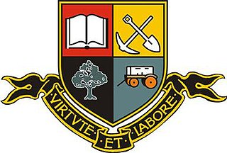 Public boys high school in Pretoria, Gauteng, South Africa