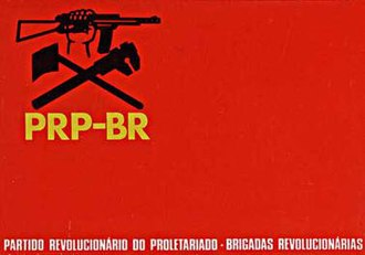 Partido Revolucionário do Proletariado - Brigadas Revolucionárias - Flag of the PRB-BR