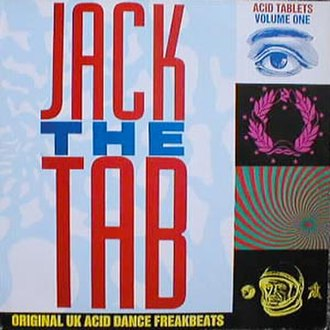 Jack the Tab/Tekno Acid Beat - Image: Psychic TV Jack The Tab Acid Tablets Volume 1Album Cover