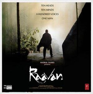 Raavan (soundtrack) - Image: Raavanalbumcover