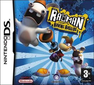 Rayman Raving Rabbids (handheld game) - Image: Rayman Raving Rabbids (handheld game)