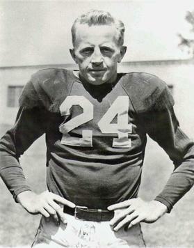 Red Cochran, player photo,Chicago Cardinals, Circa 1947-49