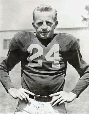 Red Cochran - Image: Red Cochran, player photo,Chicago Cardinals, Circa 1947 49