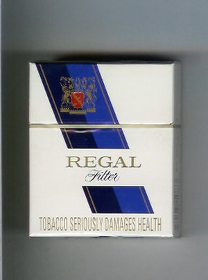 Regal (cigarette) - Image: Regal Filter (Full Flavour)