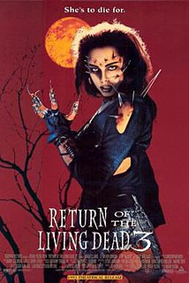 <i>Return of the Living Dead 3</i> 1993 film by Brian Yuzna