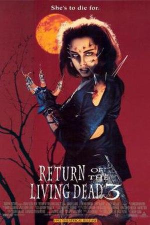 Return of the Living Dead 3 - Film poster