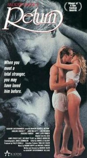 Return (1985 film) - Video cover
