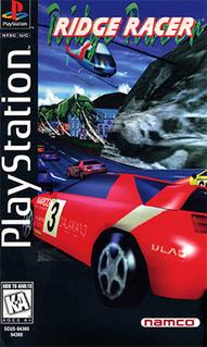 <i>Ridge Racer</i> (video game) 1993 racing video game created by Namco