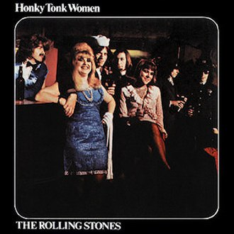 You Can't Always Get What You Want - Image: Roll Stones Single 1969 Honky Tonk Women