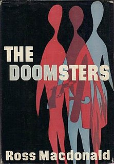 <i>The Doomsters</i> novel by Ross Macdonald