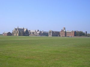 Rossall School - Rossall as seen from the playing fields