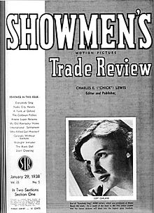 Showmen's Trade Review Cover