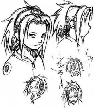 Sakura Haruno - Sakura's early design