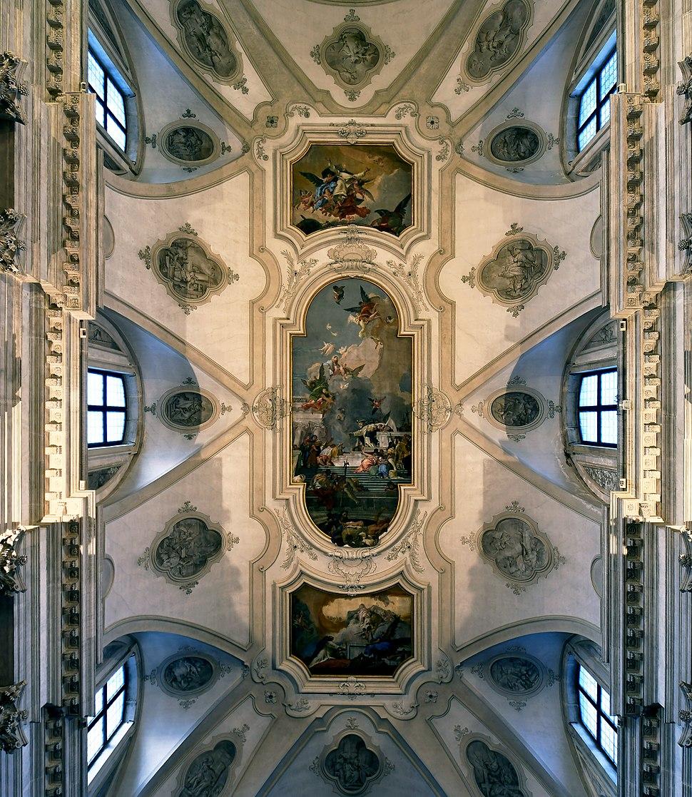 Santa Maria del Rosario (Venice) ceiling by Tiepolo