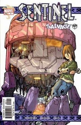 Sentinel (comic book) - Image: Sentinel Tsunami 1