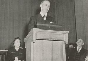 Clark Shaughnessy - Shaughnessy's inaugural address of the Pitt student body