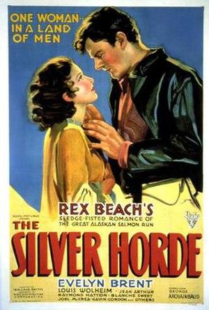 The Silver Horde (1930 film) - Film poster