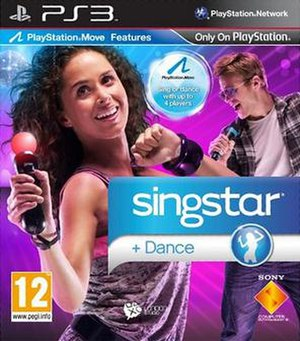 SingStar Dance - European Cover Art