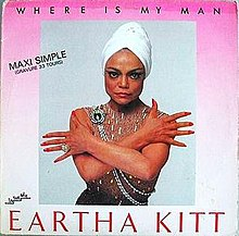 Single cover Eartha Kitt Where Is My Man.jpeg