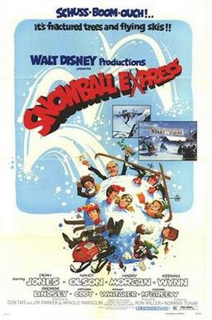 Snowball Express - Theatrical poster