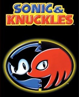<i>Sonic & Knuckles</i> platform video game originally released for the Sega Genesis