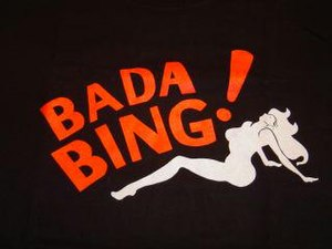 The Bada Bing's logo