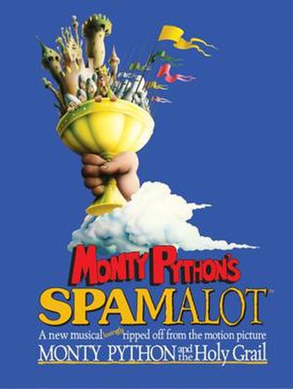 Spamalot - Broadway promotional poster