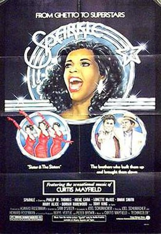 Sparkle (1976 film) - Theatrical release poster