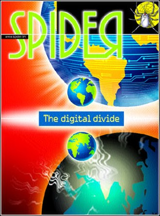 Spider (computer magazine) - Spider magazine's cover for the January 2006 issue. The magazine has come a long way since its inception in 1998.