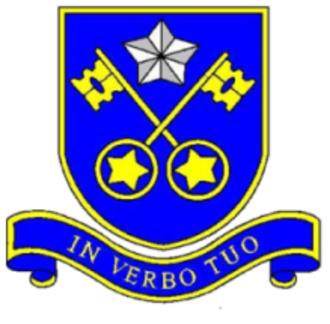 St Peter's Catholic Comprehensive School - Image: St peters logo