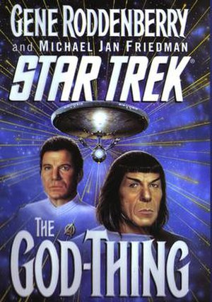 Star Trek: The God Thing - Image: Star Trek The God Thing novel cover