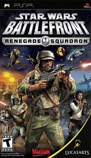 Star Wars Battlefront: Renegade Squadron - Image: Star Wars Battlefront Renegade Squadron Coverart